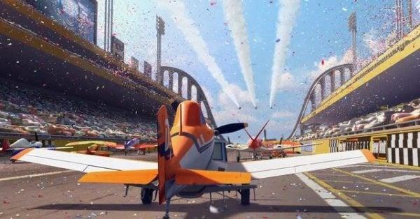 Wyścigi samolotów.