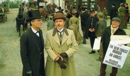 Sherlock i jego współpracownik