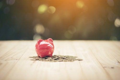 Skarbonka - oszczędności
