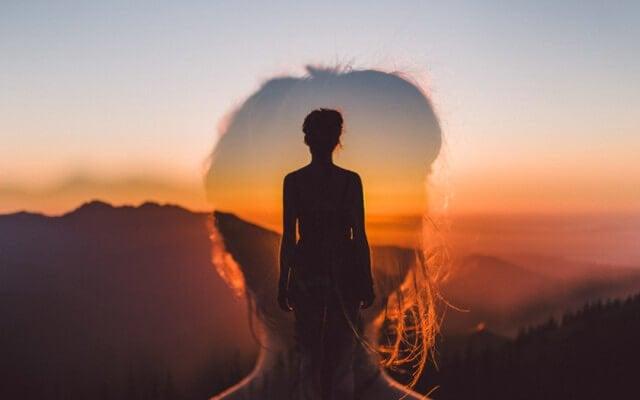 paradoks szczęścia - zachód słońca