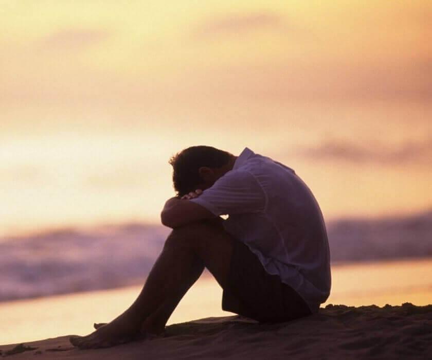 Smutny mężczyzna - logoterapia Viktora Frankla