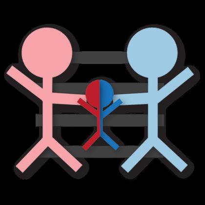 co-parenting - symbol