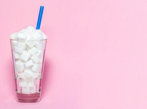 Cukier w szklance