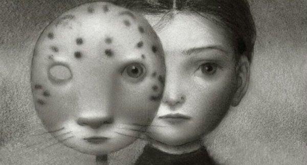 Maska kota a strach przed kotami