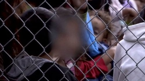 Meksykańskie dzieci - separacja od rodziców