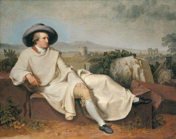 Obraz - cytaty Goethego