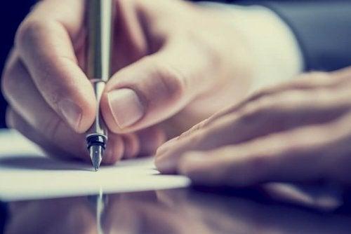 Pisanie.