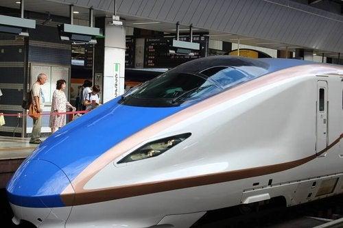 Japoński pociąg pocisk