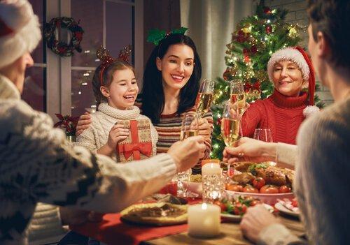 Rodzinne święta przy stole