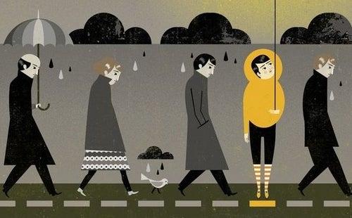 Depresja i smutek - czym się od siebie różnią?