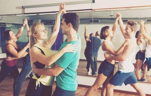 Taniec grupowy