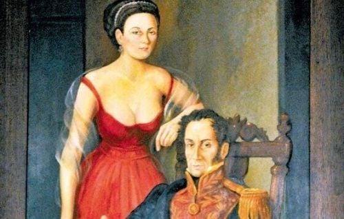 Wielkie miłości z historii - Manuelita i Bolivar