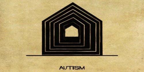 Zaburzenia psychiczne jako domy - autyzm