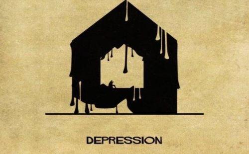 Zaburzenia psychiczne jako domy - depresja