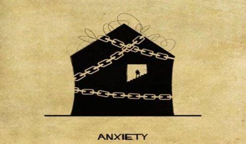 Zaburzenia psychiczne jako domy - niepokój