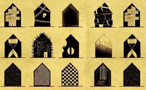 Zaburzenia psychiczne: jak wyglądałyby jako domy?
