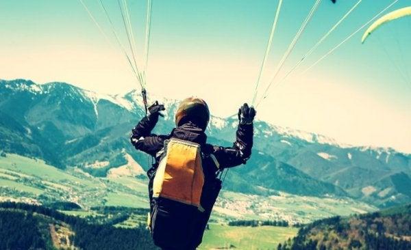 atrakcyjność ryzyka spadochron