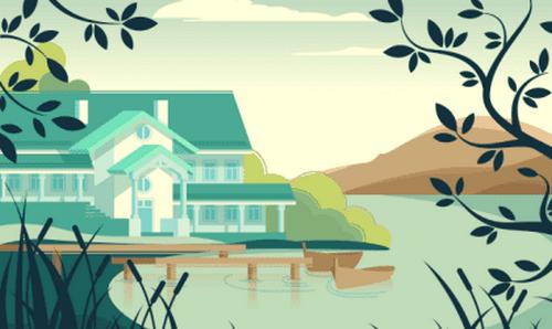 Piękna przypowieść o opuszczonym domu