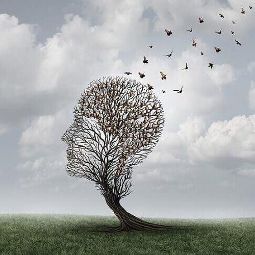 Drzewo w kształcie głowy