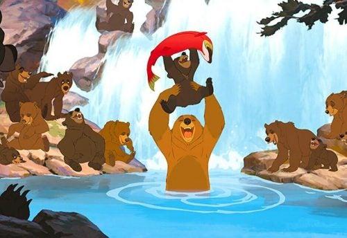Rozwój osobisty - przykład w filmie Mój Brat Niedźwiedź