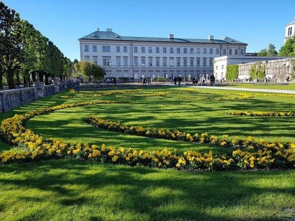 pałac mirabell - pomniki inspirowane miłością