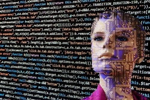 Robot przypominający kobietę