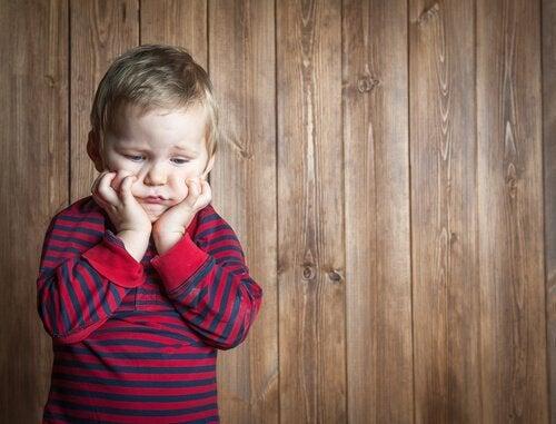 sfrustrowane dziecko