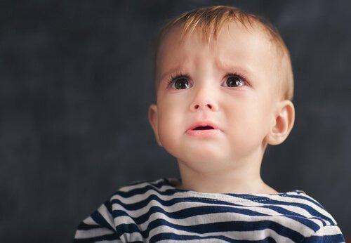 Smutek u małych dzieci
