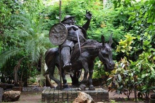 Sancho Pansa pomnik