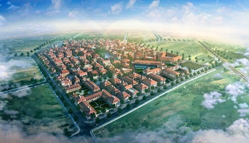 idealne miasto utopia