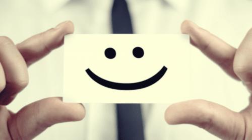 karta z uśmiechem - apteczka psychologiczna