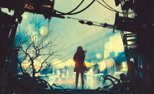 kobieta na ulicy