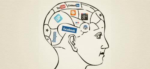 Mózg z sieciami społecznościowymi
