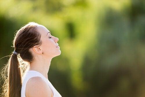Oddychanie - koncentracja podczas medytacji