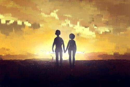 Składniki pełnej miłości - czułość.