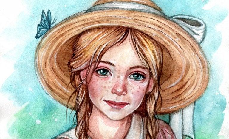 Polyanna w kapeluszu