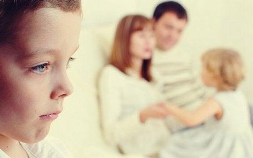 rodzice i ulubione dziecko