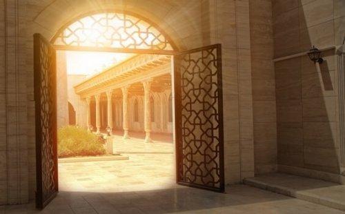 Drzwi do pałacu pamięci