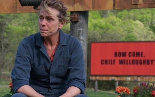 frances mcdormand trzy billboardy za ebbing missouri