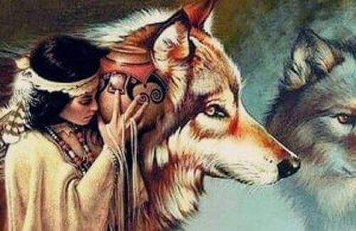 Wilki i Kobieta: legenda plemienia Dakotów