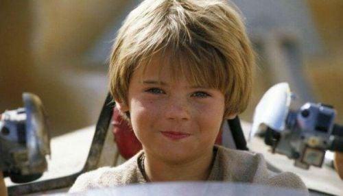 Młody Anakin Skywalker