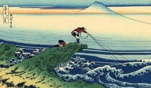 Opowieść o samuraju i rybaku: piękna historia