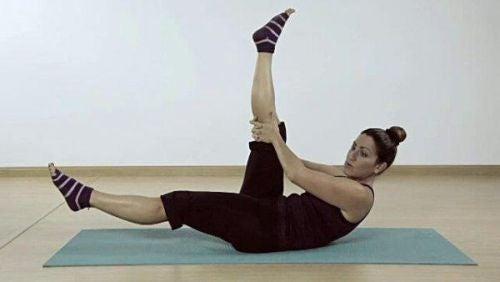 Pilates - nożyce