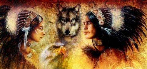 Rdzenni Amerykanie i wilki