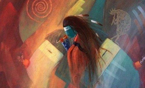 Rdzenny Amerykanin - wilcza medycyna