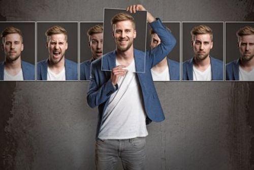 Teoria osobowości zobrazowana na zdjęciach