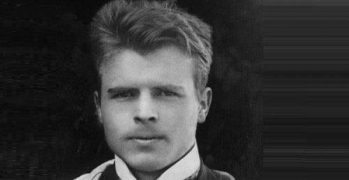 Hermann Rorschach - czarno-biały portret