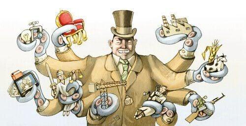 Bogaty biznesmen