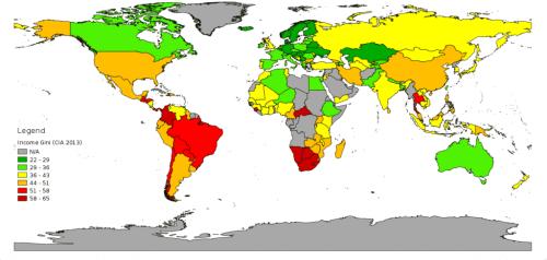 Mapa nierówności