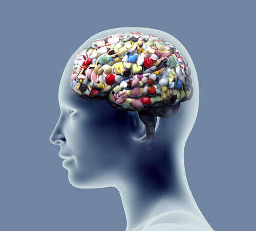 mózg pełen leków